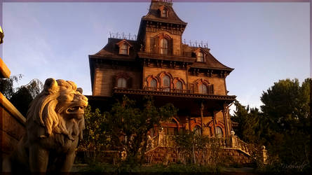 The Keeper of the Haunted Mansion by Nakouwolf