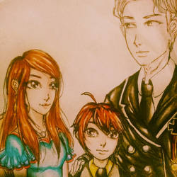 Lance and his family by IvyMitsuki0806