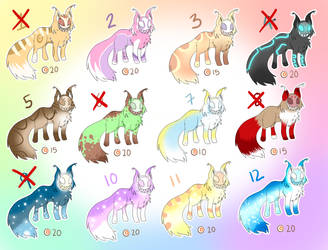 Vekryne adoptables 2 .: OPEN :. by cloudsnstuff