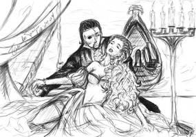 Erik et Christine -Phantom...- by TamokoSanjii