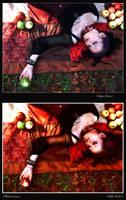 Snow White - comparativ by MaliciaRoseNoire