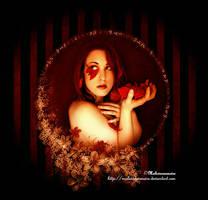 Frame of flower by MaliciaRoseNoire