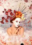 Pixel Geisha by MaliciaRoseNoire