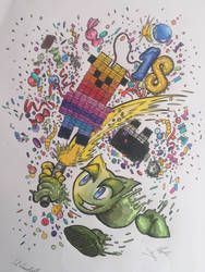 Happy 18 B-day Deviantart!!!! by S2LawlietS2