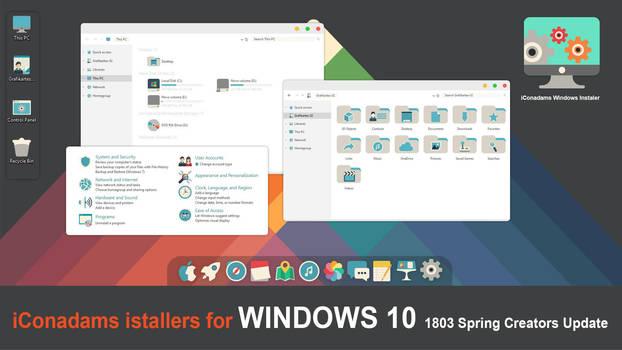 iConadams Windows iConpack instaler by valvator