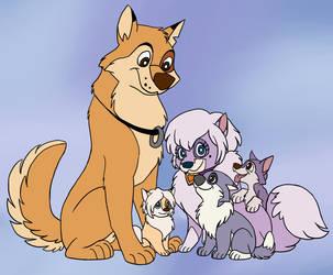 Kaltag's Family by Draco-Digi