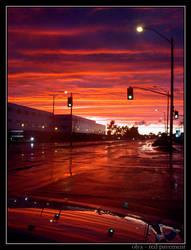 red pavement by olya