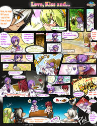 [Elsword] Love, Kiss and... - comic - by ClairSH