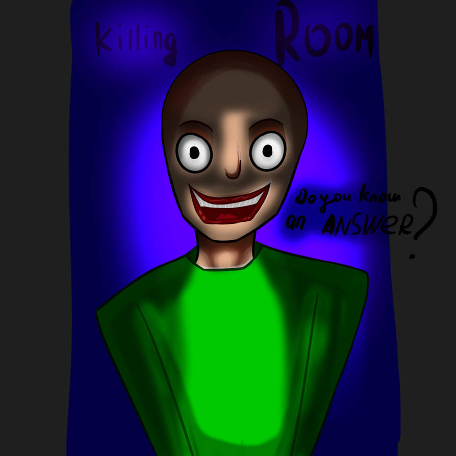 Baldi is angry by Snah182
