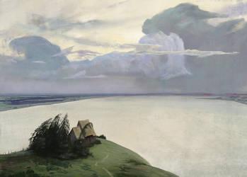 Isaac Levitan Master Study by volenck