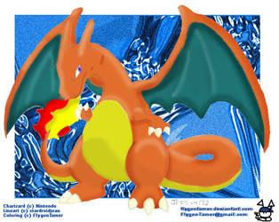 Pokemon-Chari Gone Colored! by FlygonTamer