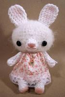 Petunia Bunny - amigurumi by selkie