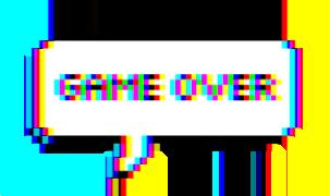 Game Over Glitch Decor (F2U) by squishybean