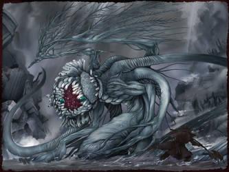 Bloodborne - At the Altar of Despair. by yagimudsuki