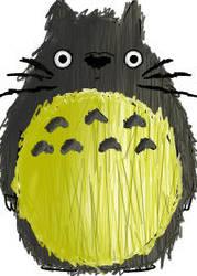 Totoro by Ritalalocapsicopata