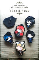 keybie pins by silverei