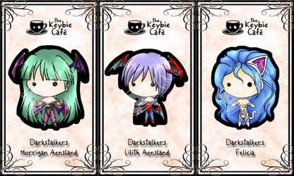 darkstalker keybies by silverei