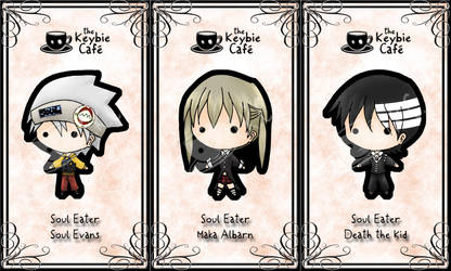 soul eater keybies by silverei