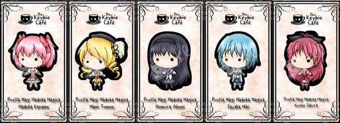 puella magi keybies by silverei