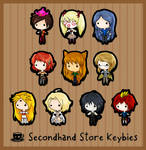 secondhand store keybies by silverei