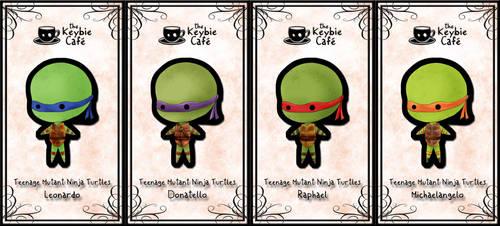 teenage mutant ninja turtle keybies by silverei