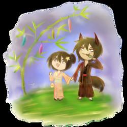 Tanabata by silverei