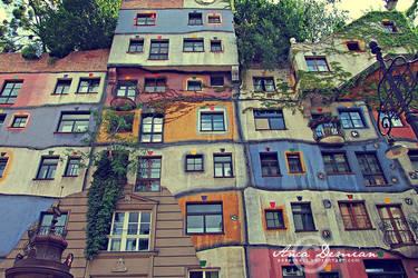 Hundertwasserhaus by Sophibelle