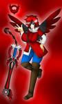 Solar Girl 0547 -Raven Bloodwing- by NWSaiyanX