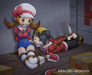 In transit by Ninja-Gokko