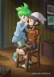 Shh! I'm trying... by Ninja-Gokko