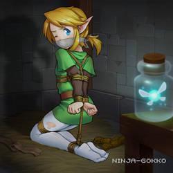 Our hero is in trouble 2 by Ninja-Gokko
