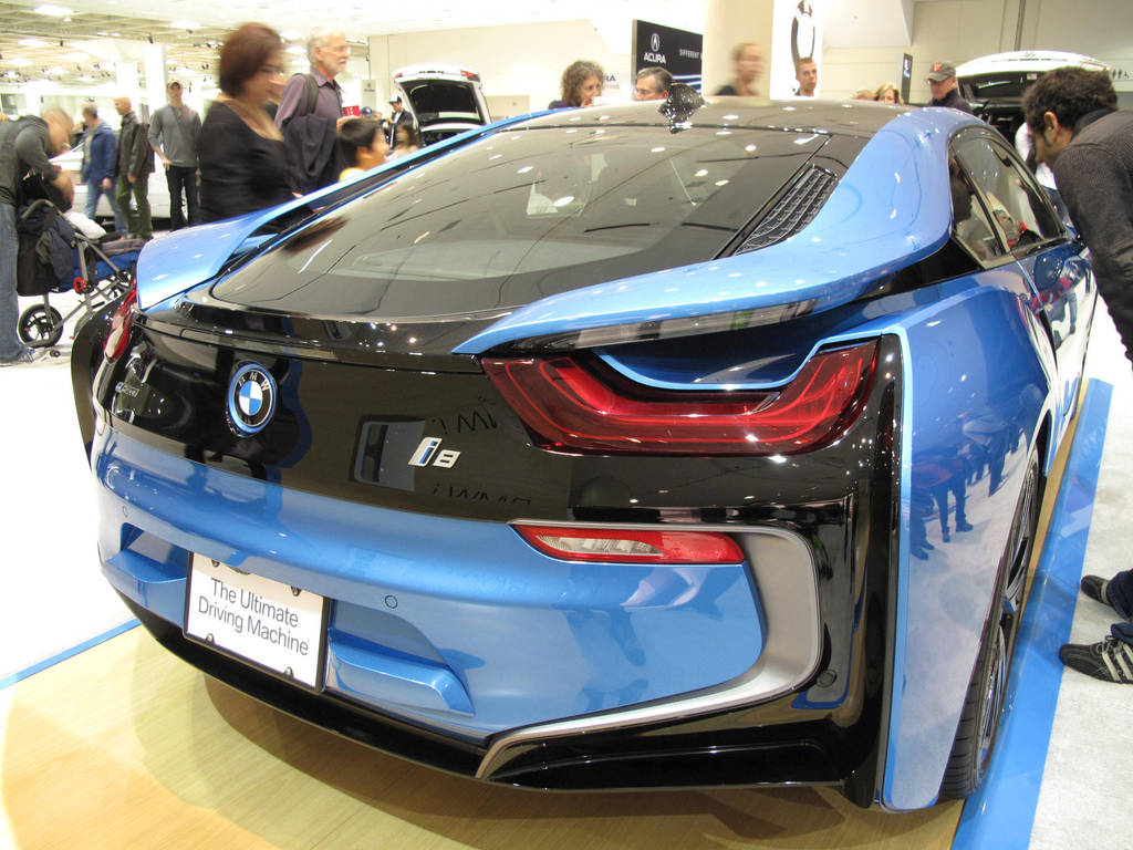 2015 Bmw I8 Rearview By Keoma2121 On Deviantart