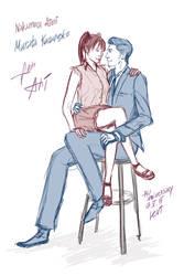 Aimi and Murata by LevittraHazard
