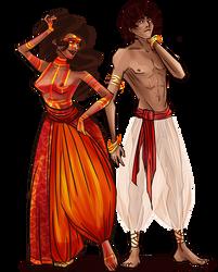 Krita + ZenWriter by LevittraHazard