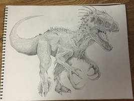 Indominus Rex by Tontolizer