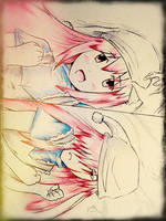 Elfen lied : nyu and lucy by mauricio81551010