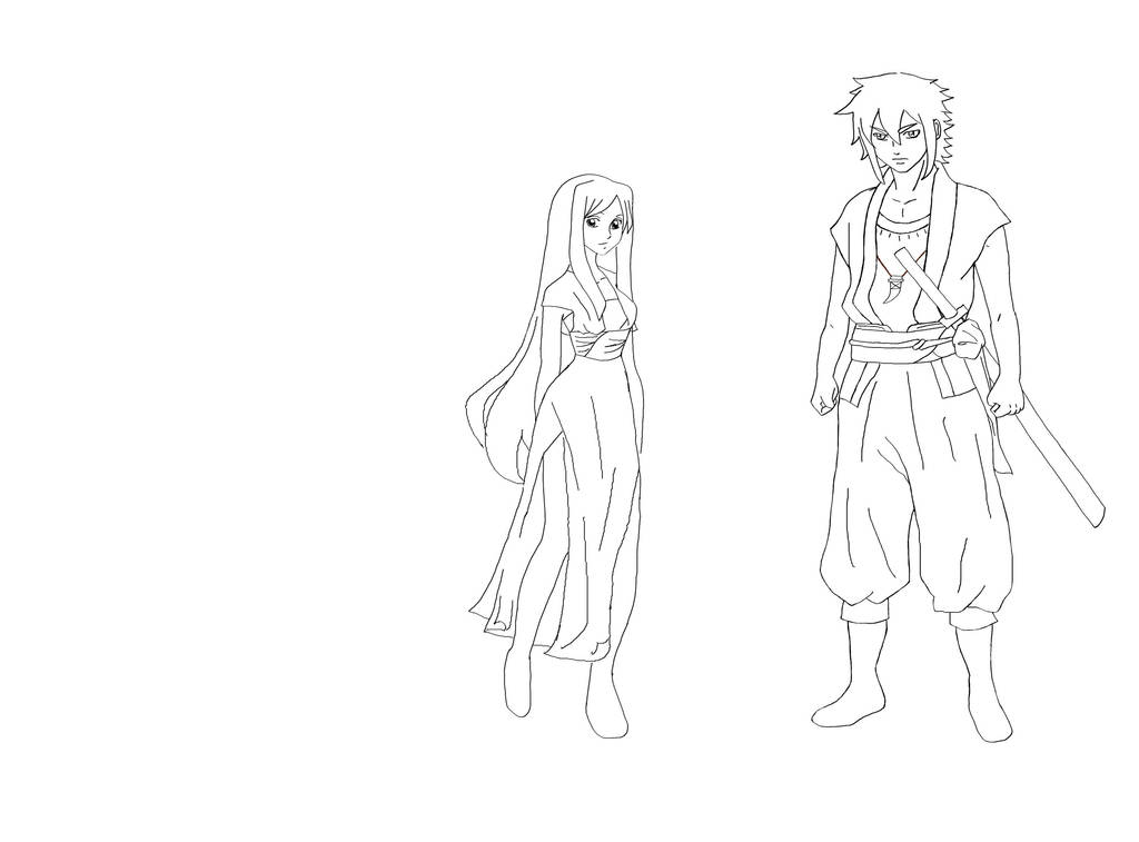 character sketch outline