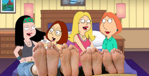 Four pairs of mother daughter soles by madgod72