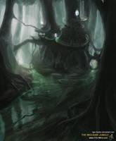 The Wolkari Jungle by tgw-Raptor