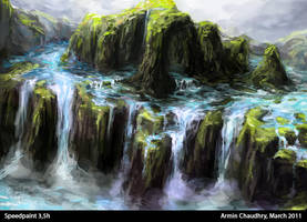 SPEEDPAINT - Waterland by tgw-Raptor