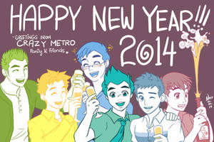 Happy New Year 2014 by Ernz1318