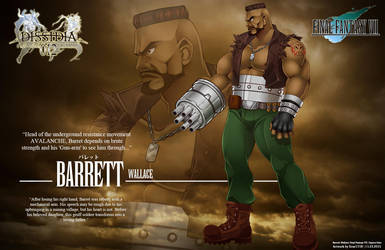 Commission: FFVII : Barrett by Ernz1318