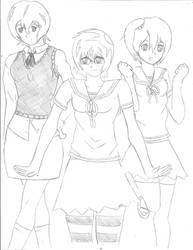 Nina Eien, Yuu Tomodachi, Naru Kawaii by Envy661