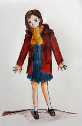 Red Cold Girl by josdavi94
