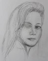 One-eyed Girl by josdavi94