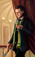 Loki: in german opera by Dreambeing