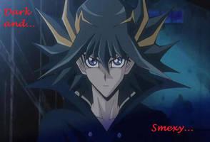 Yusei - dark and smexy by EmmaBlueEyes