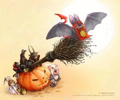 halloween by napluvayka