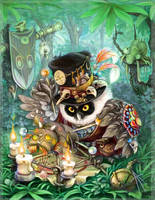 owl Voodoo by napluvayka