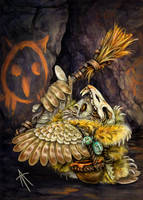 Owl artist by napluvayka